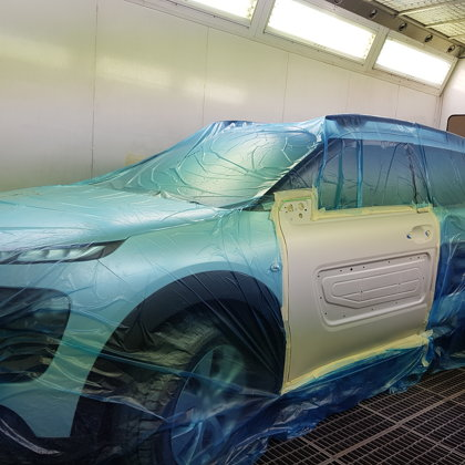 Jaunu auto remonts Sigulda
