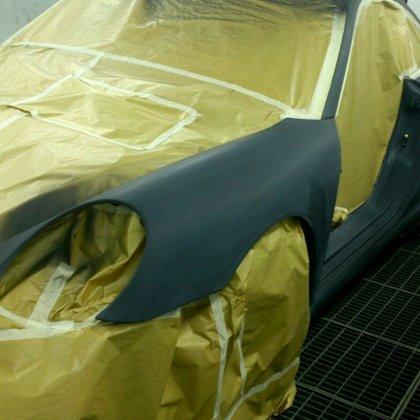 Porsche krāsošana