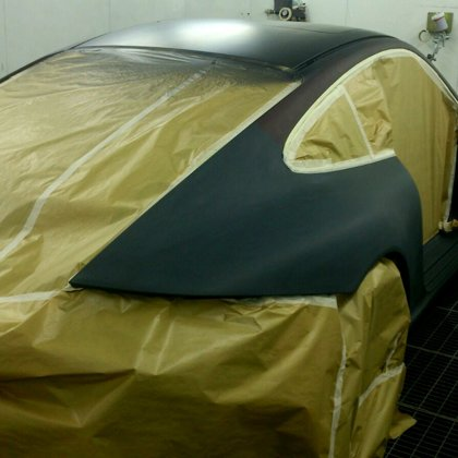 Porsche pārkrāsošana